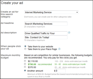 Adwords-express-options